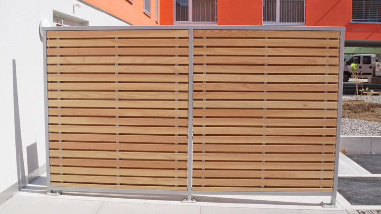 Balkonabtrennungen Aus Holz : sichtschutzw nde balkontrennw nde terrassenabtrennungen braun raumsysteme ~ Sanjose-hotels-ca.com Haus und Dekorationen