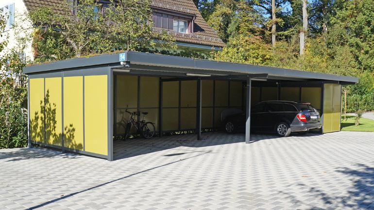 Carport Lösungen carports carport autounterstände braun raumsysteme