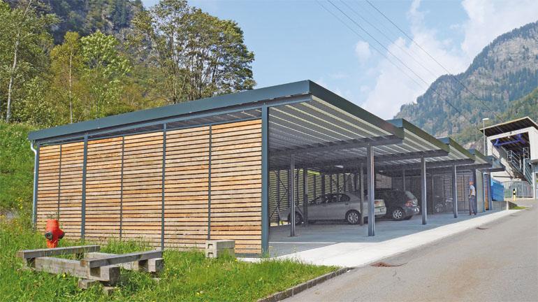 Balkontrennw nde kellertrennw nde einhausungen carports for Carport detail